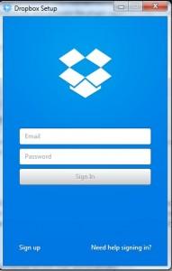 Dropbox Setup Email Confirmation